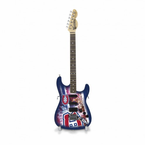 Montreal Canadiens Mini Collectible Guitar