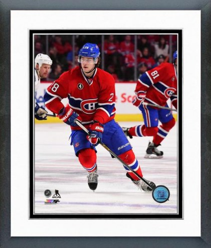 Montreal Canadiens Nathan Beaulieu Action Framed Photo