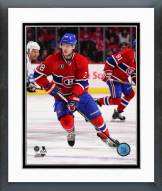 Montreal Canadiens Nathan Beaulieu 2014-15 Action Framed Photo