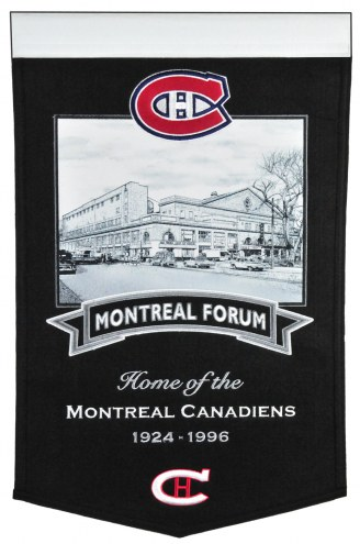 Montreal Canadiens NHL Stadium Banner