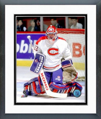 Montreal Canadiens Patrick Roy 1989-90 Action Framed Photo
