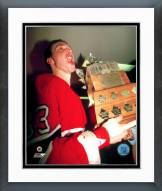 Montreal Canadiens Patrick Roy Conn Smythe Framed Photo