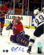 Montreal Canadiens Patrick Roy Signed Finals Save vs Gretzky 8 x 10 Photo