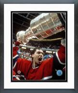 Montreal Canadiens Patrick Roy with 1986 Stanley Cup Framed Photo