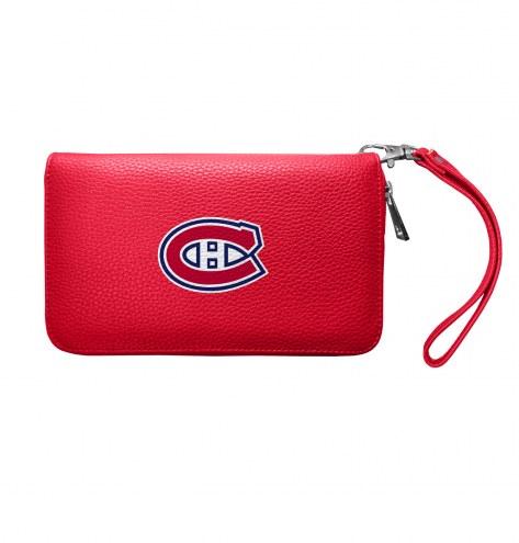 Montreal Canadiens Pebble Organizer Wallet