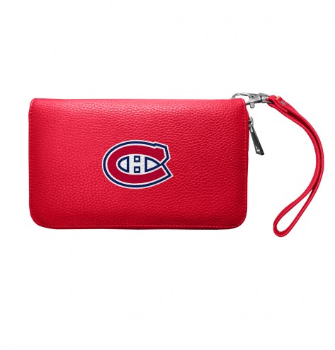 Montreal Canadiens Pebble Organizer Wallet