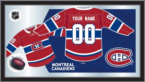 Montreal Canadiens Personalized Jersey Mirror