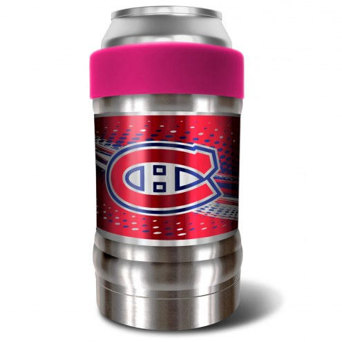 Montreal Canadiens Pink 12 oz. Locker Vacuum Insulated Can Holder
