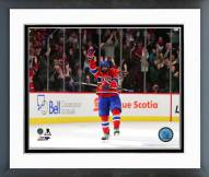 Montreal Canadiens P.K. Subban Action Framed Photo