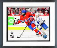 Montreal Canadiens P.K. Subban Playoff Action Framed Photo
