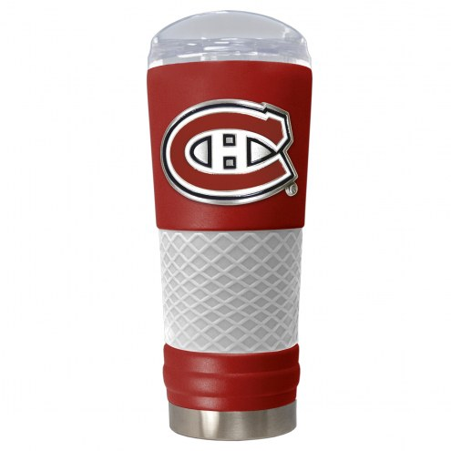 Montreal Canadiens Red 24 oz. Powder Coated Draft Tumbler
