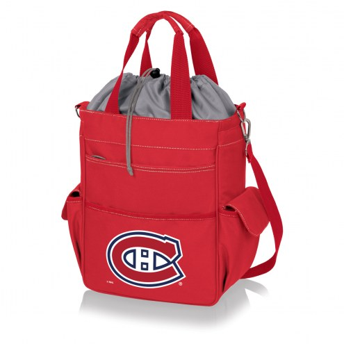 Montreal Canadiens Red Activo Cooler Tote