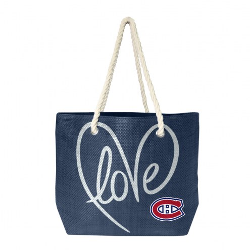 Montreal Canadiens Rope Tote
