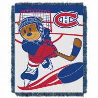 Montreal Canadiens Score Baby Blanket