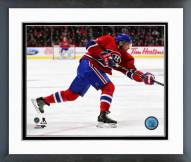 Montreal Canadiens Sergei Gonchar Action Framed Photo