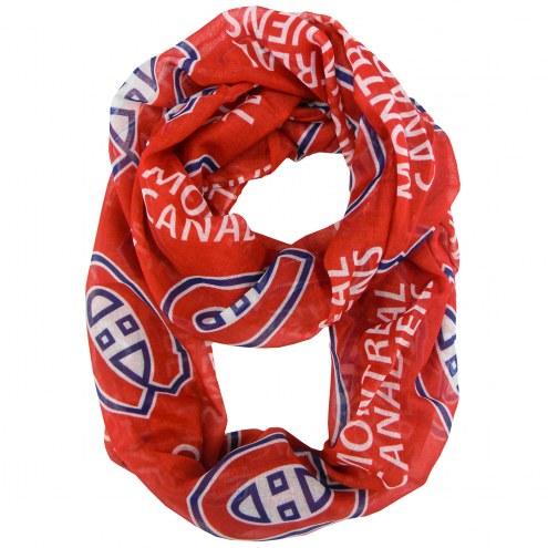 Montreal Canadiens Sheer Infinity Scarf