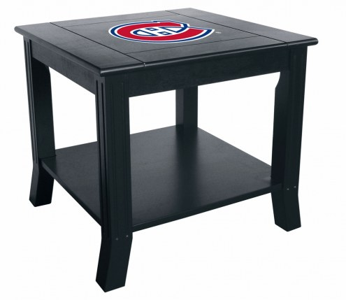 Montreal Canadiens Side Table
