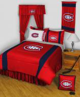 Montreal Canadiens Sidelines Bed Comforter