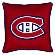 Montreal Canadiens Sidelines Pillow