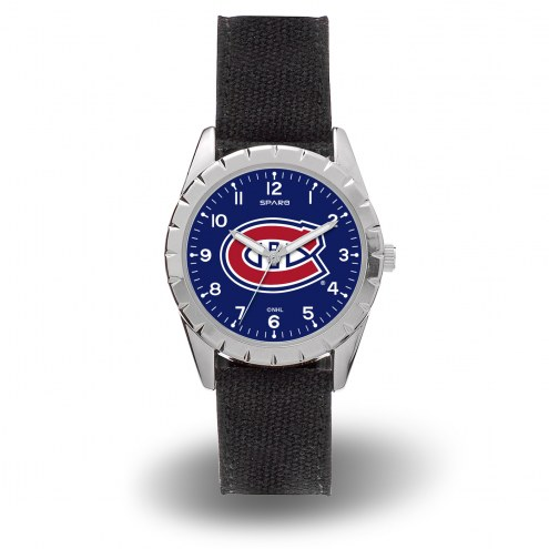 Montreal Canadiens Sparo Men's Nickel Watch