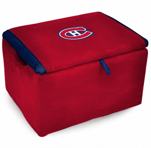 Montreal Canadiens Storage Bench