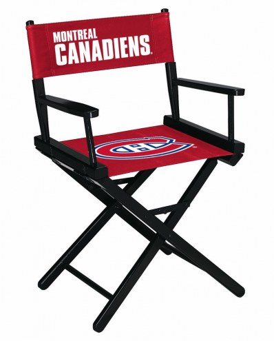 Montreal Canadiens Table Height Director's Chair