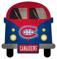 Montreal Canadiens Team Bus Sign
