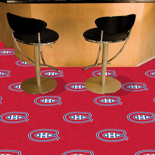 Montreal Canadiens Team Carpet Tiles