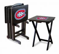 Montreal Canadiens TV Trays - Set of 4