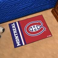 Montreal Canadiens Uniform Inspired Starter Rug