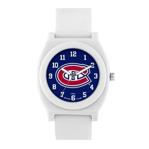 Montreal Canadiens Unisex Fan White Watch