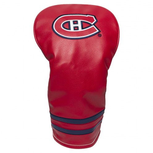 Montreal Canadiens Vintage Golf Driver Headcover