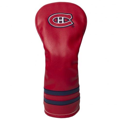 Montreal Canadiens Vintage Golf Fairway Headcover