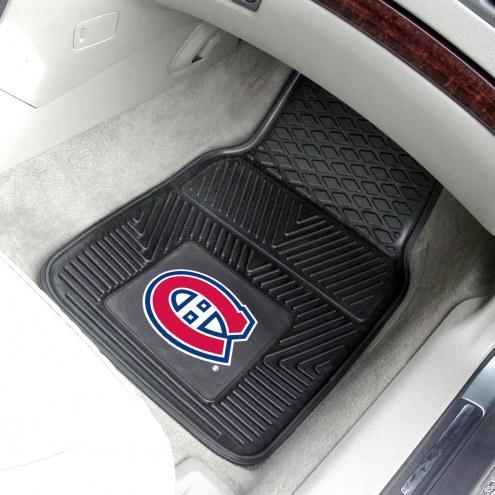 Montreal Canadiens Vinyl 2-Piece Car Floor Mats