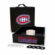 Montreal Canadiens Washer Toss Game Set