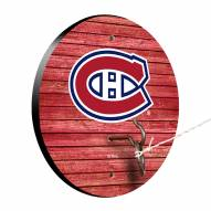 Montreal Canadiens Weathered Design Hook & Ring Game