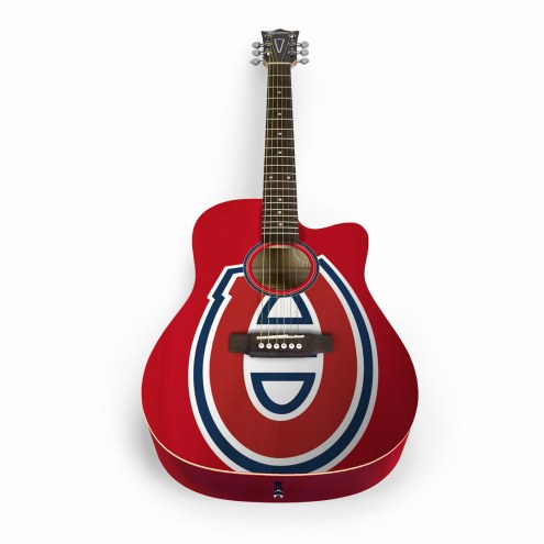 Montreal Canadiens Woodrow Acoustic Guitar