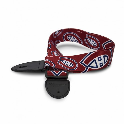 Montreal Canadiens Woodrow Guitar Strap
