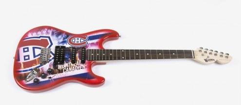 Montreal Canadiens Woodrow Northender Electric Guitar