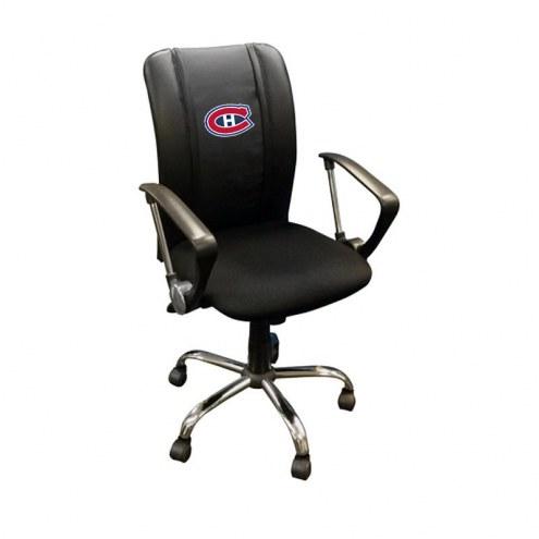 Montreal Canadiens XZipit Curve Desk Chair