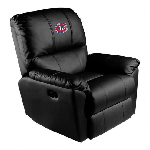 Montreal Canadiens XZipit Rocker Recliner