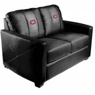 Montreal Canadiens XZipit Silver Loveseat