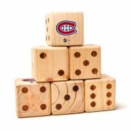 Montreal Canadiens Yard Dice