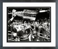 Montreal Canadiens Yvan Cournoyer 1978 Stanley Cup Framed Photo