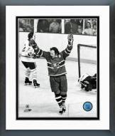 Montreal Canadiens Yvan Cournoyer Action Framed Photo
