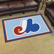 Montreal Expos 4' x 6' Area Rug