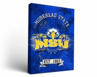 Morehead State Eagles Banner Canvas Wall Art