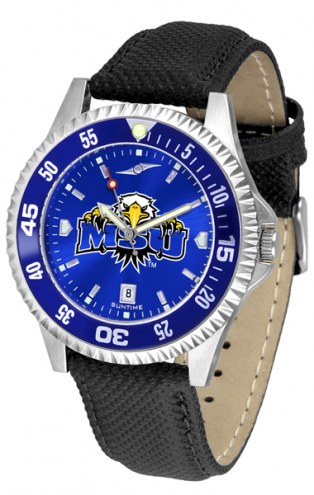 Morehead State Eagles Competitor AnoChrome Men's Watch - Color Bezel