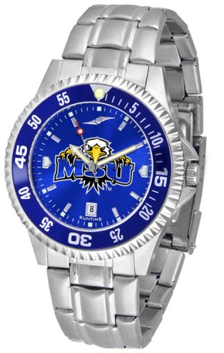 Morehead State Eagles Competitor Steel AnoChrome Color Bezel Men's Watch
