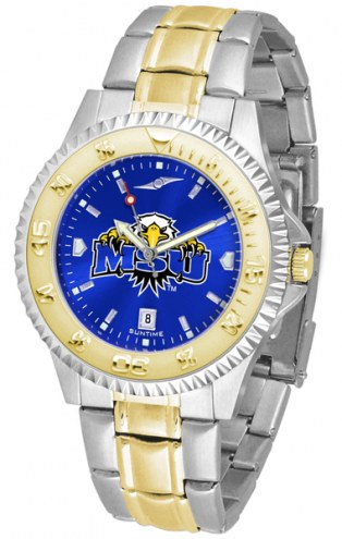 Morehead State Eagles Competitor Two-Tone AnoChrome Men's Watch